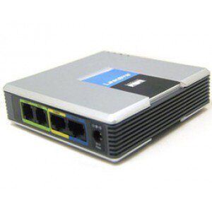 Шлюз VoIP Cisco (Linksys) SPA2102 Б/У